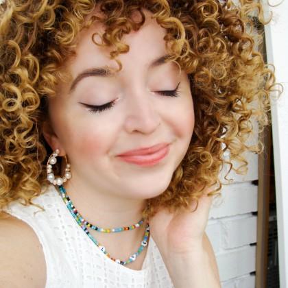 Кудрявый парик с Алиэкспресс