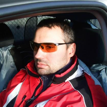Мужские фотохромные очки ночного видения с поляризацией