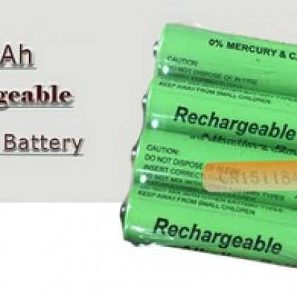 Battery 2100mah 1.5V Alkaline AAA rechargeable.