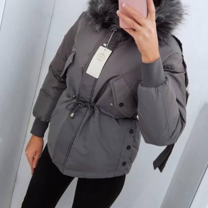 Зимняя короткая куртка от Ailegogo Official Store