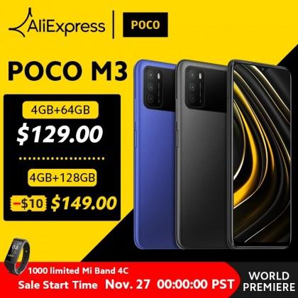 Poco M3 4GB ram 128 GB rom