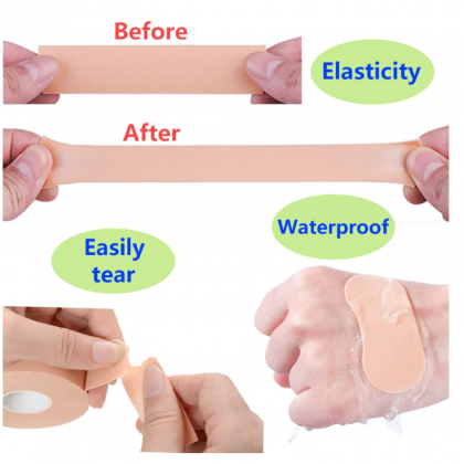 First Aid Bandage Medical Rubber Plaster Tape