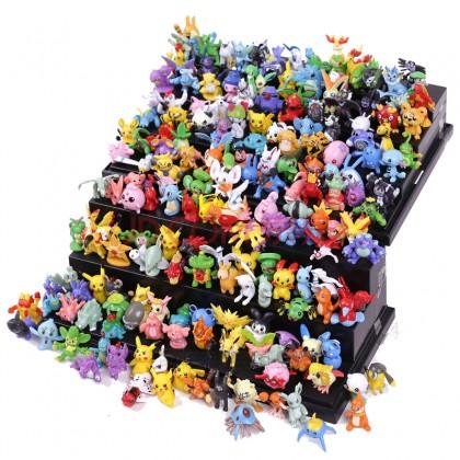 Набор фигурок-покемонов, 144 штуки. Моя любимая покупка!