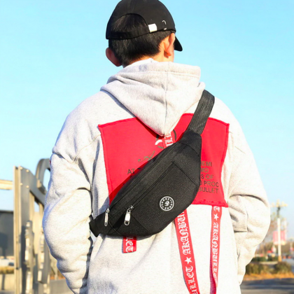 Крутые мужские поясные и нагрудные сумки с Алиэкспресс