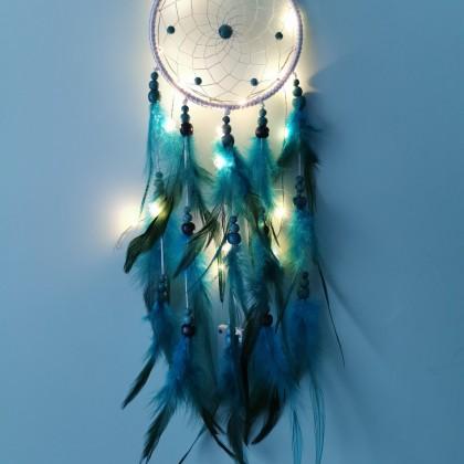 Красивущий ловец снов с подсветкой