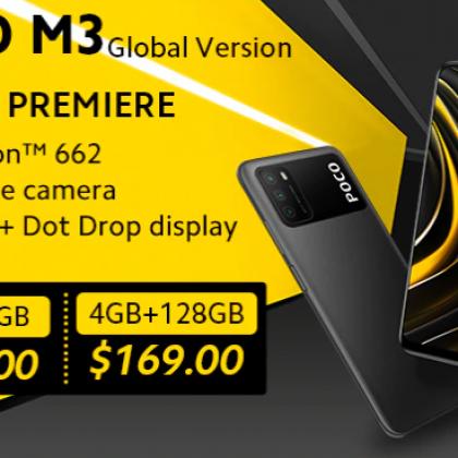 POCO M3 бюджетный телефончик с отличными характеристиками