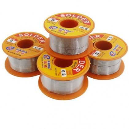 0.5mm 100g Welding Wire Roll FLUX 2.0 45FT Tin Lead Tin Wire Melt Rosin Core.