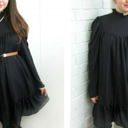 Маленькое черное платье с Алиэскпресс