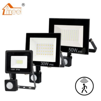 PIR Motion Sensor LED Flood Light 10W 30W 50W Outdoor Floodlight 220V 240V Waterproof Led Spotligh