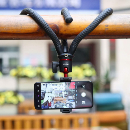 Ulanzi MT-11 Flexible Octopus Tripod, Smartphone, DSLR SLR, Vlog, Travel, Portable 2 in 1 Tripod