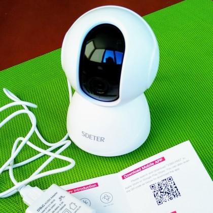 Беспроводная CCTV камера с высоким разрешением для наблюдения и охраны .