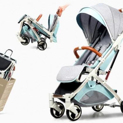 Универсальная детская коляска трансформер с Алиэкспресс. Легкая и компактная.