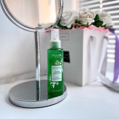Флюид реконструктор Ollin Professional BIONIKA для восстановления волос.