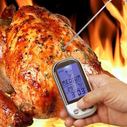 Беспроводной Bluetooth Термометр. Для дистанционного замера температуры мяса.