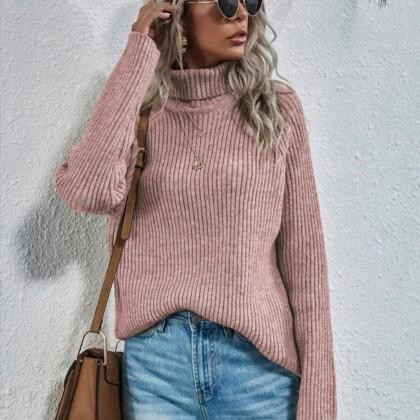 Вязаный свитер, Shein