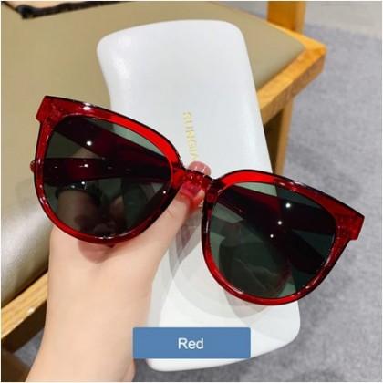 Big Frame Round Sunglasses Women Vintage Oversized Shades.