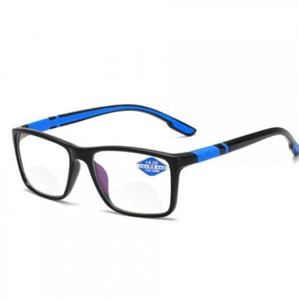 Vintage TR90 Reading Glasses Women Men Anti Blue Light Presbyopia Eyeglasses.