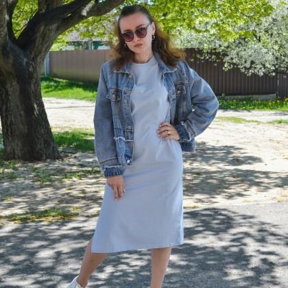Платье-футболка в стиле оверсайз
