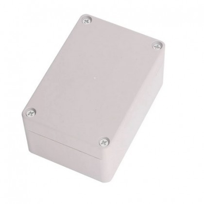 Surface Mounted Plastic Sealed Waterproof Joint Junction Box Case 100x68x50mm.