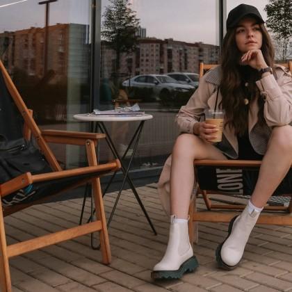 Суперуниверсальная и стильная обувь  челси!