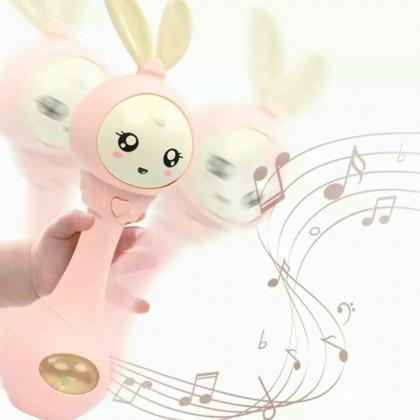 Детская музыкальная игрушка-погремушка