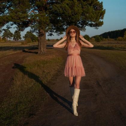 Платье-зефирка для воздушного настроения