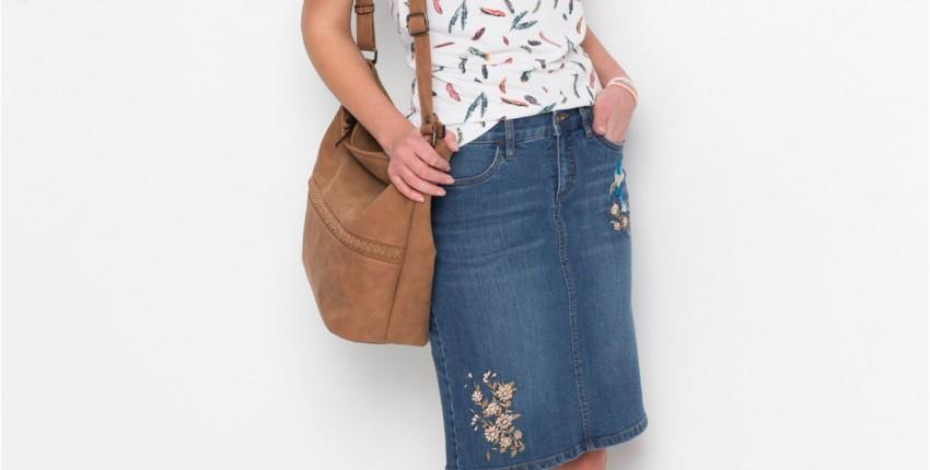 Джинсовая юбка - «привет» из 90 - тых - отзыв покупателя
