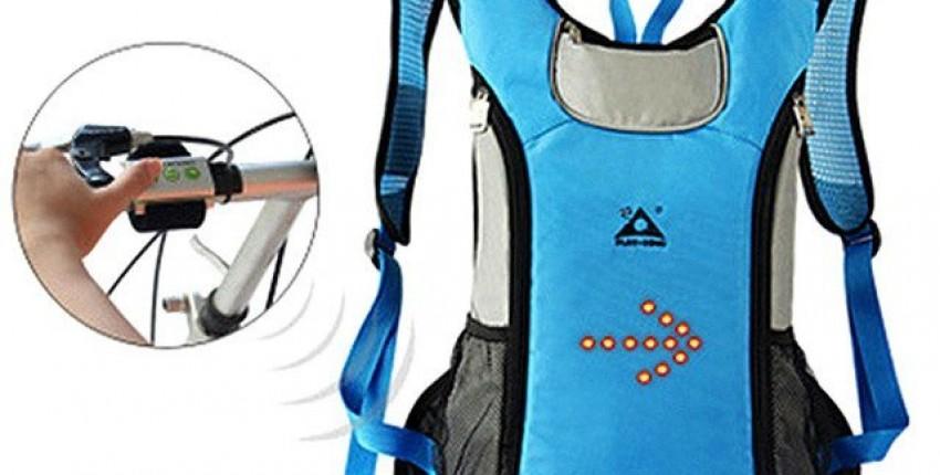 Рюкзак с поворотными сигналами - отзыв покупателя