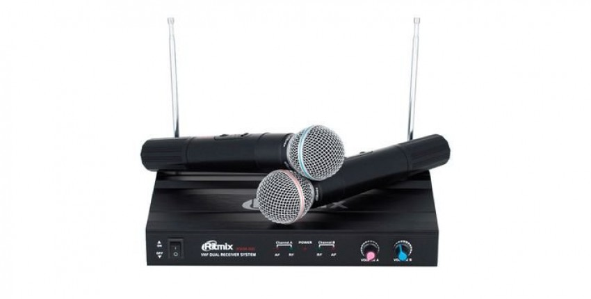 Микрофон беспроводной Ritmix RWM-221