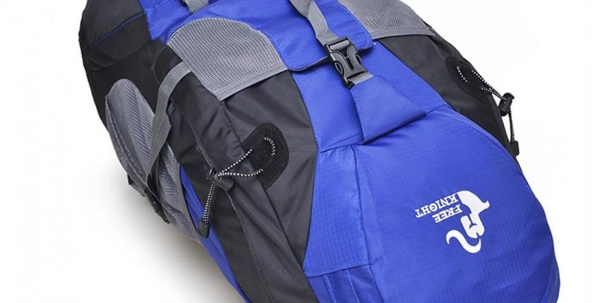Водонепроницаемый 50 литровый  рюкзак для походов. - отзыв покупателя