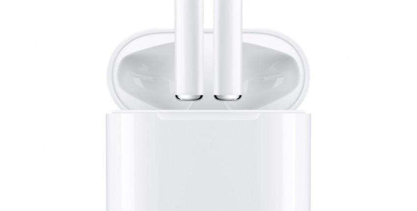 Наушники беспроводные Apple AirPods MMEF2ZE/A [официальная российская гарантия]
