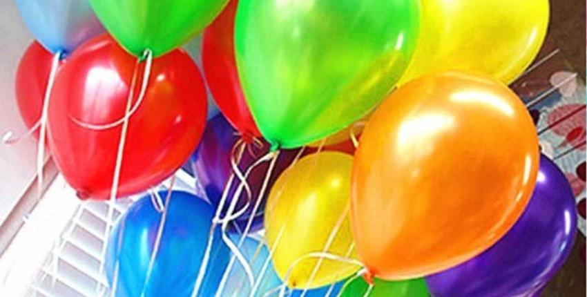Надувные латексные шарики - отзыв покупателя