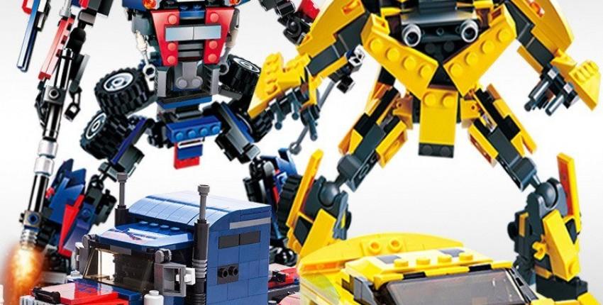 Конструктор лего трансформеры 2 в 1. - отзыв покупателя