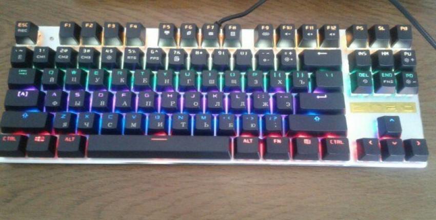 Механическая клавиатура - отзыв покупателя