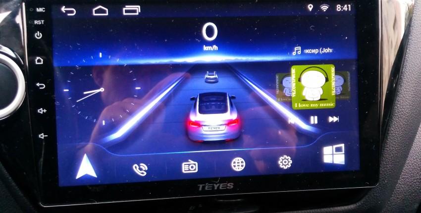 медиасистема на Андроиде с навигацией для машины