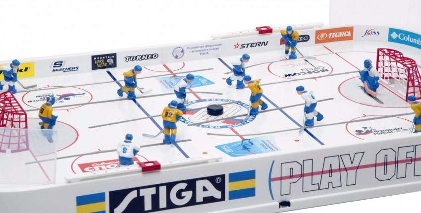 Настольный хоккей Stiga - отзыв покупателя