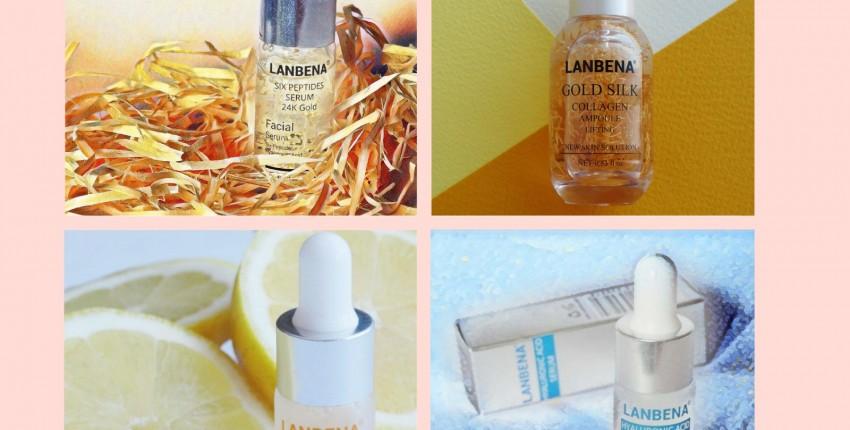 Недорогие, но эффективные сыворотки для лица Lanbena с aliexpress - отзыв покупателя