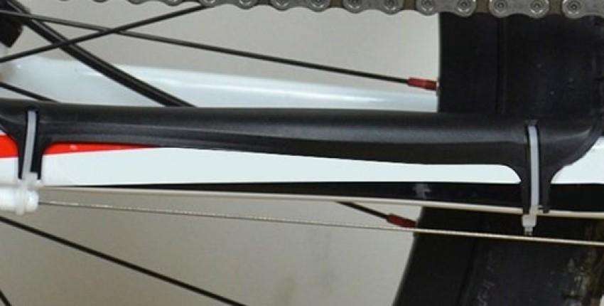 Защита задней вилки от цепи, 6 цветов - отзыв покупателя