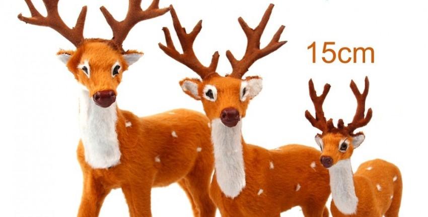 Рождественские олени.