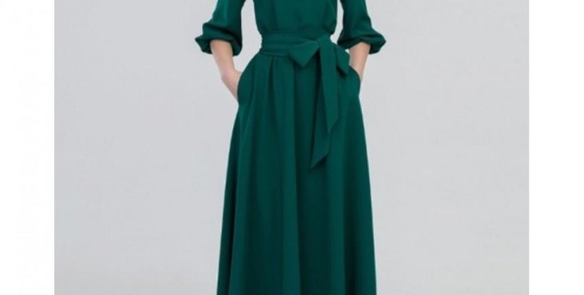 Женское длинное платье. - отзыв покупателя