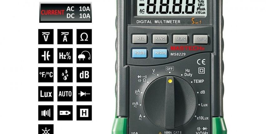 мультиметр mastech ms8229. - отзыв покупателя