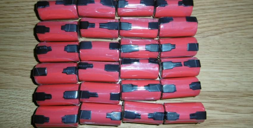 Элементы-аккумуляторы 1,2 В Ni-Cd 2200 мАh для замены в штатных аккумуляторах дрели