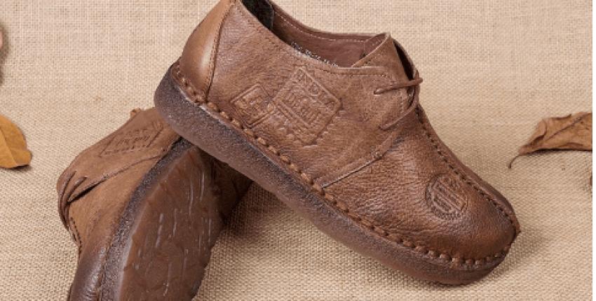 обувь из натуральной кожи на плоской подошве - отзыв покупателя