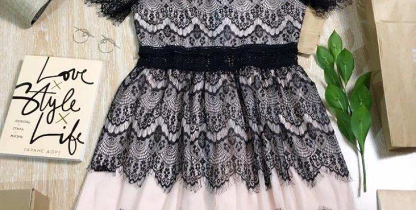 очень красивое платье - отзыв покупателя