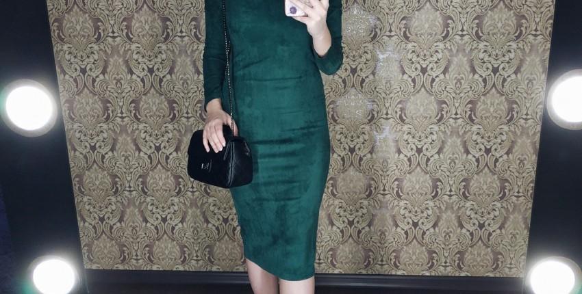 Изумрудное платье - отзыв покупателя