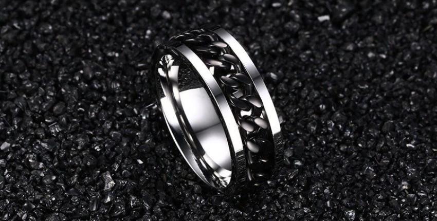 Стальное кольцо антистресс. - отзыв покупателя