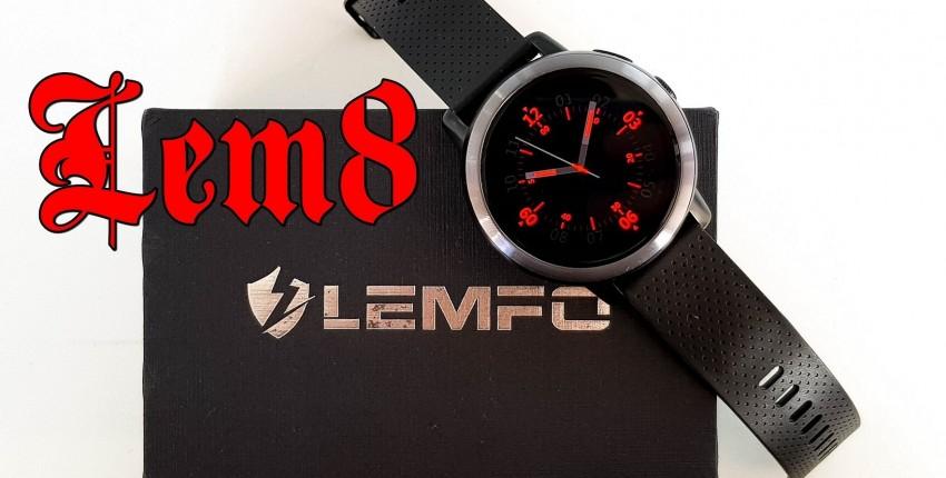 Обзор LEMFO LEM8: умные часы с круглым AMOLED экраном, операционной системой Android и поддержкой 4G - отзыв покупателя