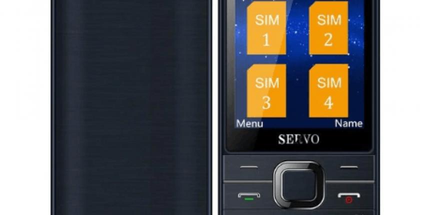Телефон для бизнеса Servo v9500 русская клавиатура 4 SIM карты - отзыв покупателя