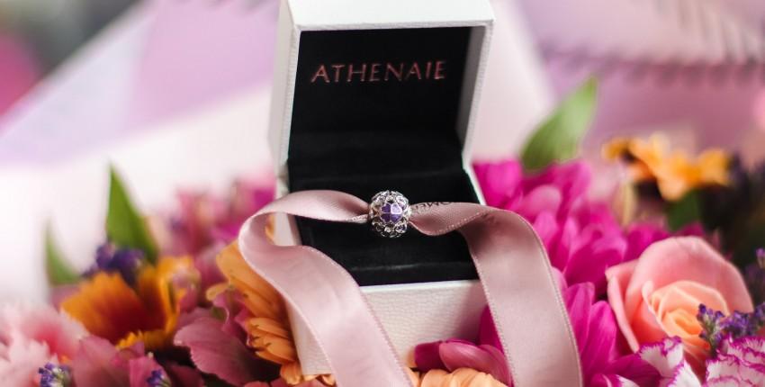 Красивый шарм ATHENAIE - отзыв покупателя