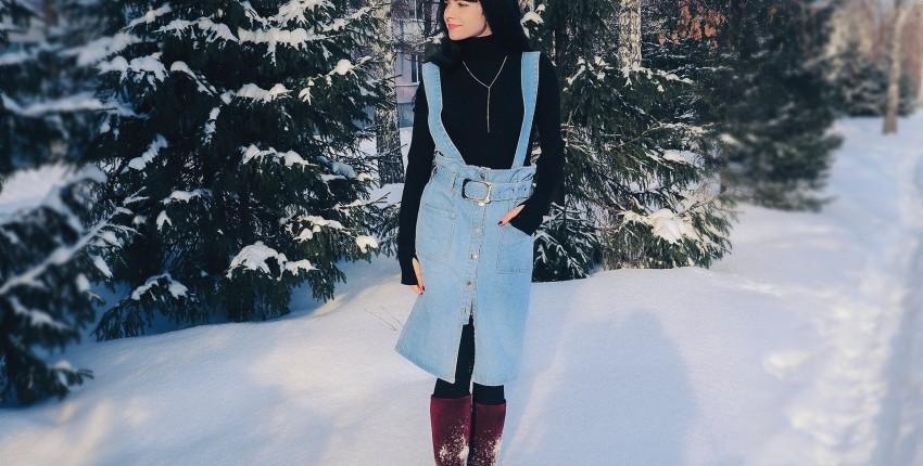 Юбка-сарафан Colorfaith - отзыв покупателя